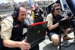 Scuderia Toro Rosso crew member