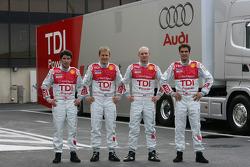 Mike Rockenfeller, Mattias Ekström, Alexandre Premat, Lucas Luhr