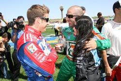 Marco Andretti, Tony Kanaan et Danica Patrick