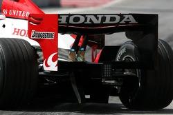 Super Aguri F1 Team rear wing