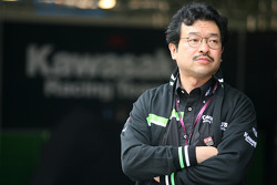 Kawasaki Racing team member