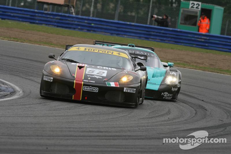 #52 Racing Team Edil Cris Ferrari 430 GT2: Paolo Ruberti, Damien Pasini