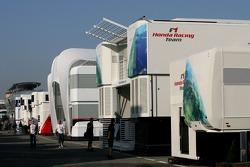 Honda F1 Racing Team, motorhome