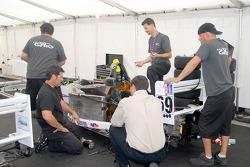 Team GFRO prepares Ron White's car