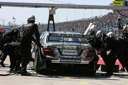 Пит-стоп Бруно Спенглера, Team HWA AMG Mercedes, AMG Mercedes C-Klasse