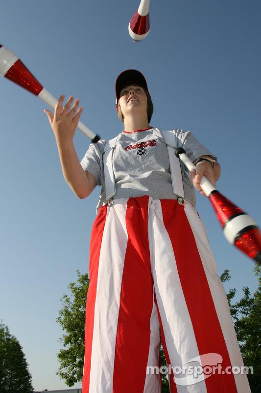 A juggler