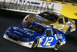 Ryan Newman and Kurt Busch