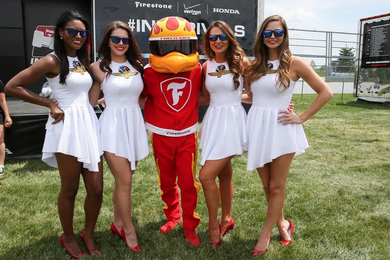 Lovely Indianapolis Motor Speedway girls