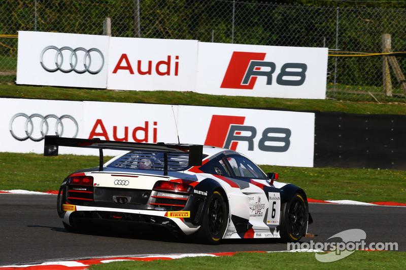 #6 Phoenix Racing Audi R8 LMS: Крістофер Гаазе, Маркус Вінкелхок