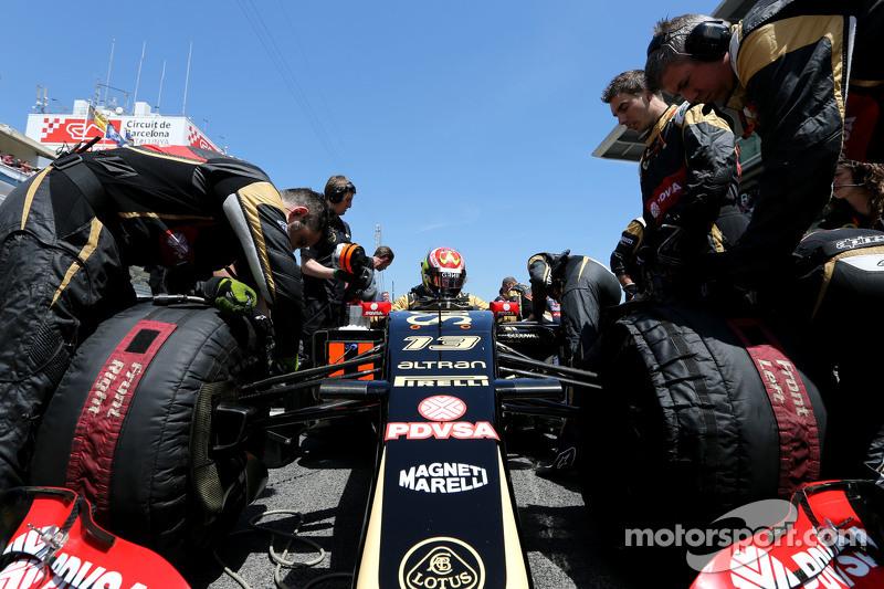 帕斯托·马尔多纳多, 路特斯F1车队,进站时