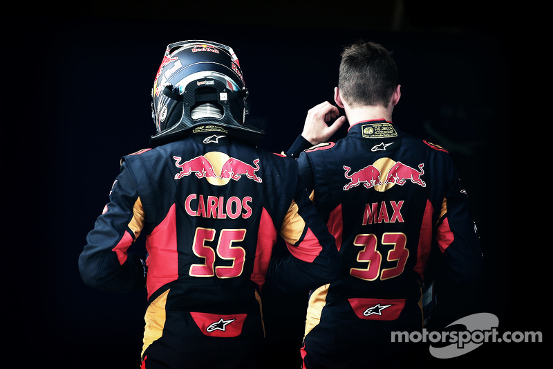 Карлос Сайнс-мл., Scuderia Toro Rosso, Макс Ферстаппен, Scuderia Toro Rosso