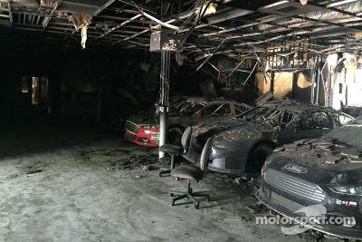 Leavine Family车队工厂着火