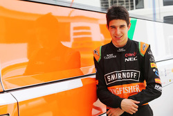 Esteban Ocon, Sahara Force India F1 Team Piloto de pruebas