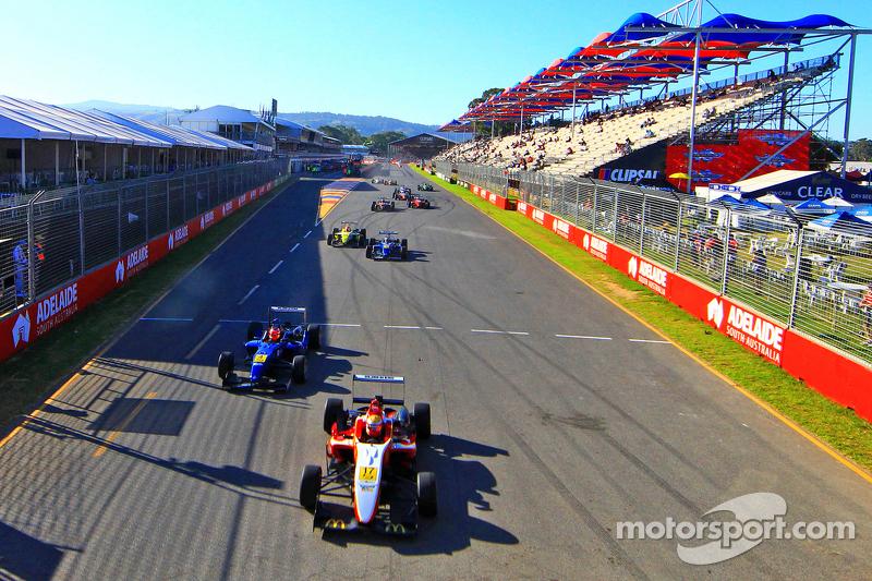 澳大利亚F3比赛在阿德莱德
