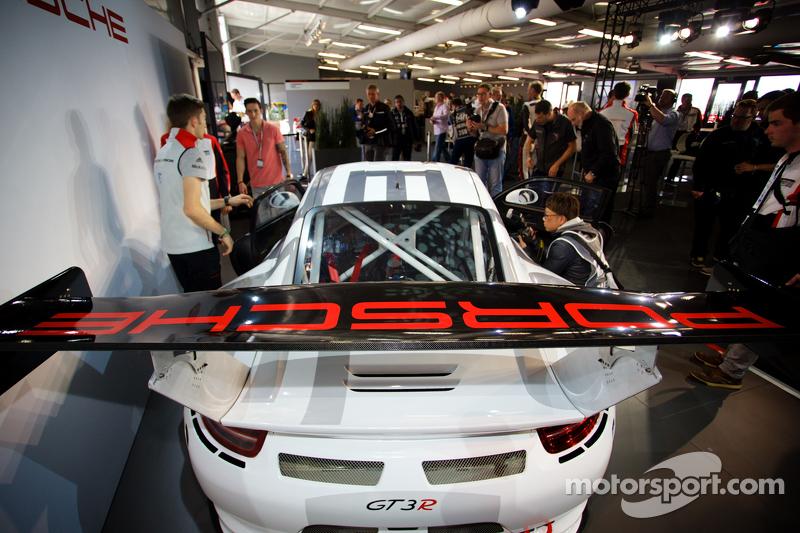 Präsentation Porsche 911 GT3 R: Der neue Porsche 911 GT3 R
