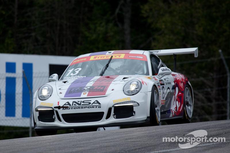 #13 ANSA Motorsports, Porsche 911 GT3 Cup: Lorenzo Trefethen