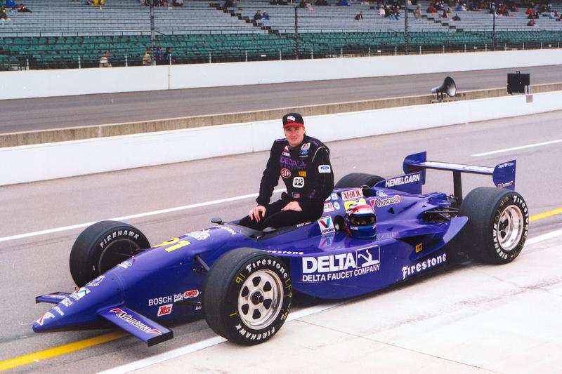 Buddy Lazier en de laatste voor Ford