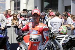 Tercer lugar, Andrea Dovizioso, Ducati Team