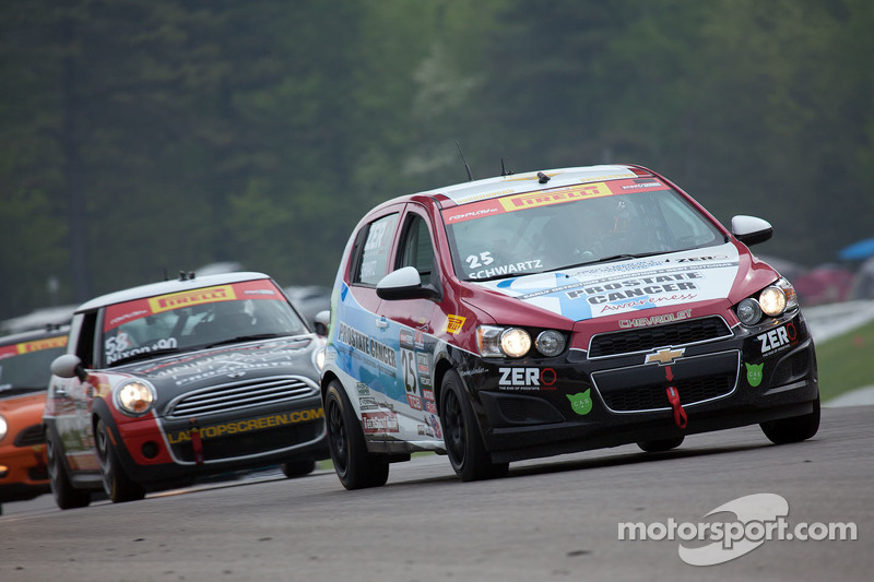 #25 Tech Sport Racing, Chevrolet Sonic: Johan Schwartz