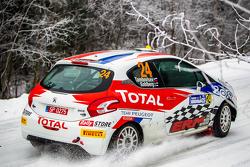 Сергей Тамбовцев и Кристиан Сольберг, Peugeot Team Russia, Peugeot 208 R2