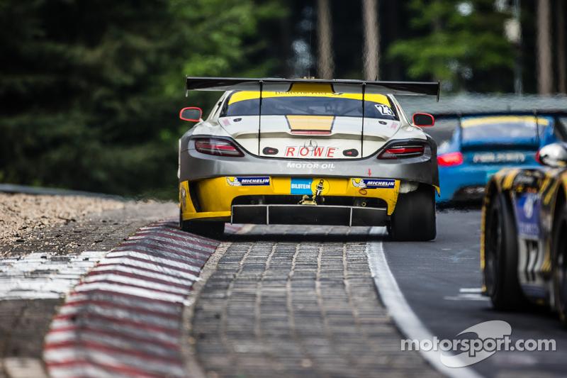 #23 Rowe Racing, Mercedes-Benz SLS AMG GT3: Klaus Graf, Christian Hohenadel, Nico Bastian, Thomas Jä