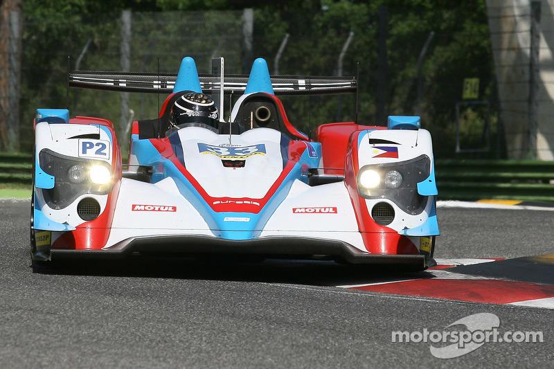 #33 Eurasia Motorsport, Oreca 03R - Nissan: Jun Jin Pu, Nick de Bruijn
