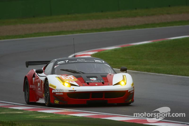 #60 Formula Racing Ferrari F458 Italia: Johnny Laursen, Mikkel Mac, Andrea Rizzoli