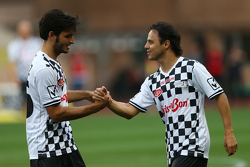 Carlos Sainz Jr. Scuderia Toro Rosso y Felipe Massa Williams