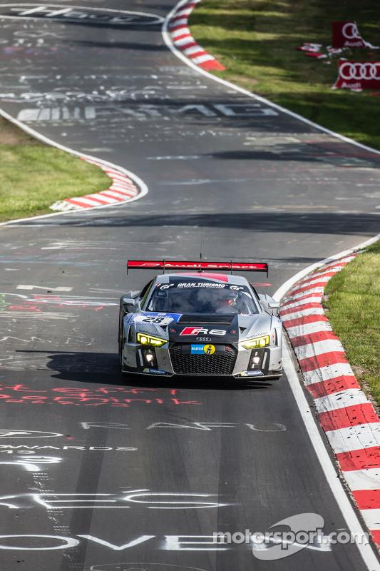 #28 Audi Sport Team WRT Audi R8 LMS: Christopher Mies, Edward Sandström, Nico Müller, Laurens Vanthoor