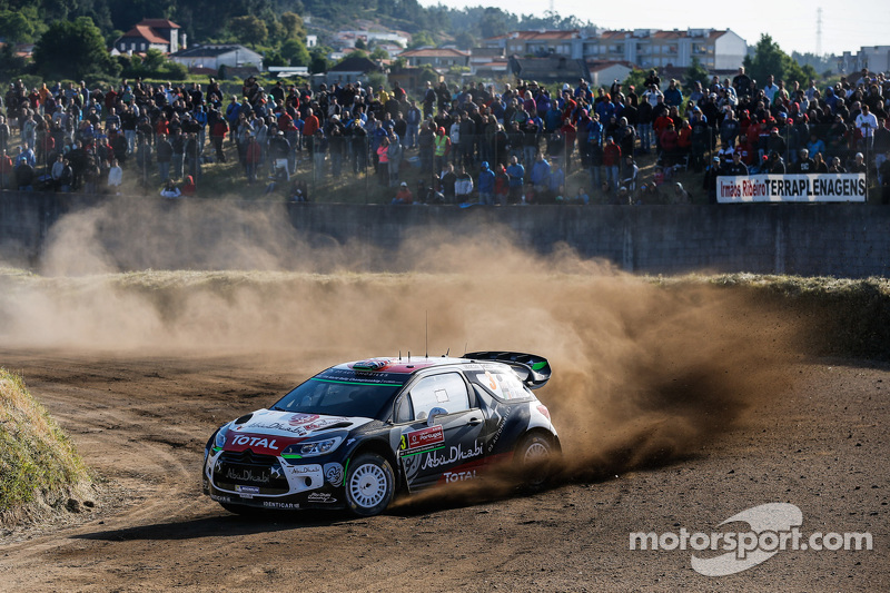 Kris Meeke und Mads Ostberg, Citroën DS3 WRC, Citroën World Rally Team