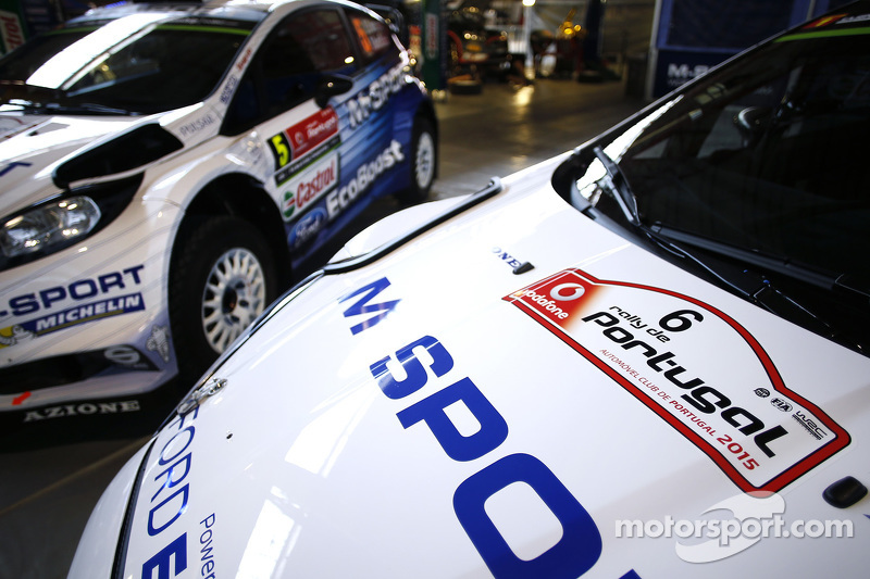 M-Sport Ford WRC detail