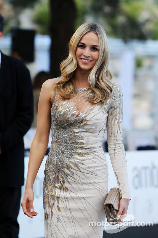 Carmen Jorda, Lotus F1 Team Pilota collaudatrice all'Amber Lounge Fashion Show
