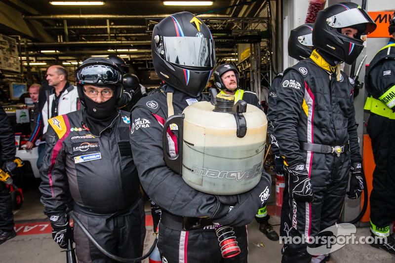Marc VDS Racing, die Crew ist bereit für einen Boxenstopp