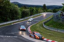 #54 Team Lexus, Lexus ISF CCS-R: Helmut Baumann, Horst Baumann, Lorenz Frey, Fredy Barth