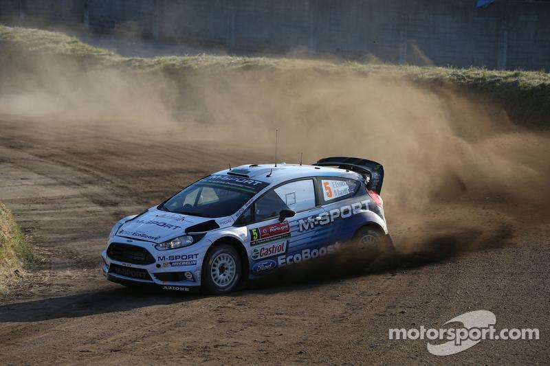 Elfyn Evans und Danielel Barrit, M-Sport World Rally Team, Ford Fiesta WRC