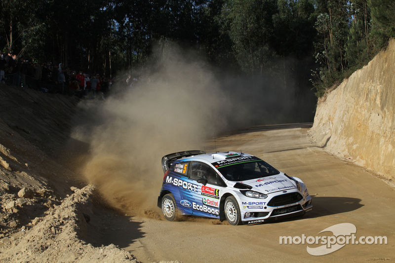 Elfyn Evans und Danielel Barrit, M-Sport World Rally Team, Ford Fiesta WRC