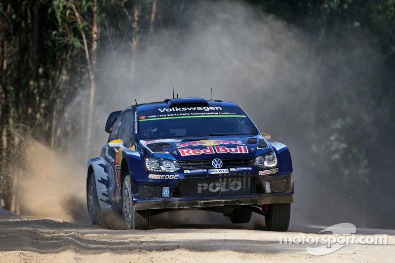 Andreas Mikkelsen dan Ola Floene, Volkswagen Polo R WRC Volkswagen Motorsport II