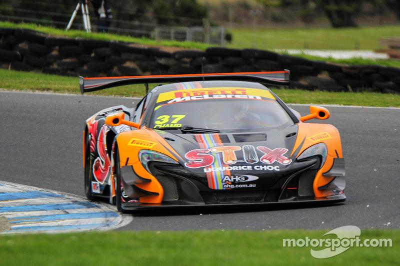 Klark Quinn, Jonathon Webb, McLaren MP412-C
