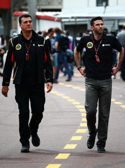 (L to R): Федеріко Гастальді, Lotus F1 Team Заступник керівника команди з Меттью Картер, Lotus F1 Team CEO