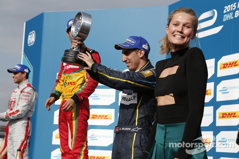 3. Sébastien Buemi, e.dams-Renault