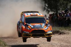 Martin Prokop et Jan Tomanek, Ford Fiesta RS WRC