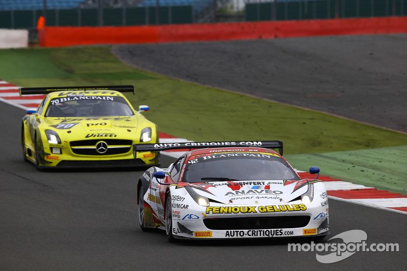 #42 Sport Garage, Ferrari 458 Italia: Christophe Hamon, Tony Samon, Luc Paillard