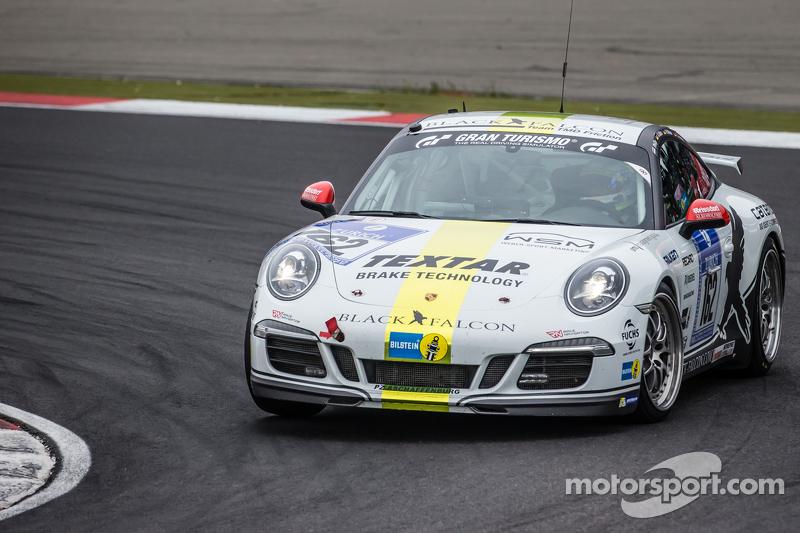 #162 Black Falcon, Porsche 911 Carrera: André Kuhn, Christian Schmitz, Helmut Weber