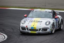 #162 Блек Фалкон Porsche 911 Carrera: та ré Kuhn, Christian Schmitz, Helmut Weber