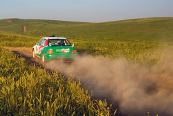Вадим Макаров и Дмитрий Яковченко, Mitsubishi Lancer Evolution IX