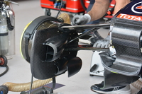 Red Bull RB11 front suspension detail
