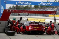 Parada en pits, Miguel Molina, Audi Sport Team Abt Audi RS 5 DTM