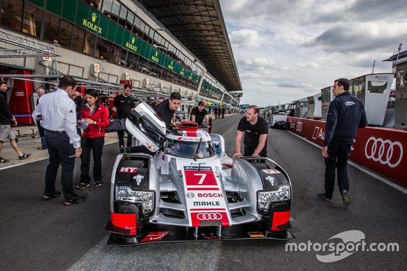 #7 Audi Sport Team Joest, Audi R18 e-tron quattro