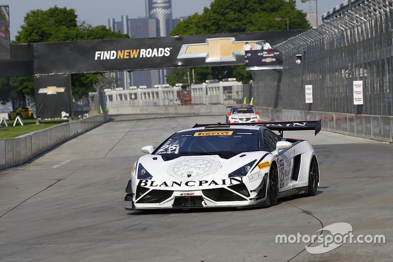 #25 Reiter Ingenieuring, Lamborghini Gallardo: Nick Catsburg