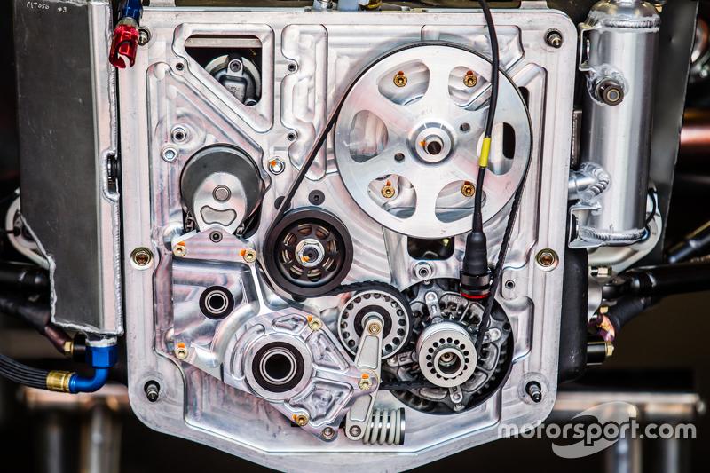 #22 Nissan Motorsports, Nissan GT-R LM NISMO, Frontpartie-Detail